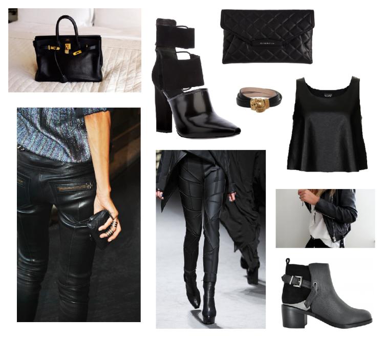 black leather edit